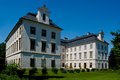 Baroque chateau Vizovice. Royalty Free Stock Image