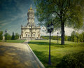 Baroque church Royalty Free Stock Photography