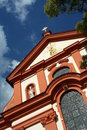 Baroque church detail Royalty Free Stock Images