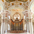 Baroque Church Organ Stock Photos