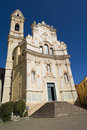 Baroque church st john baptist liguria italy Royalty Free Stock Photography