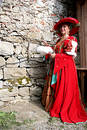 Baroque costume Stock Image
