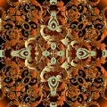 Baroque 3d Seamless Pattern. V...