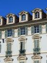 Baroque facade Royalty Free Stock Image
