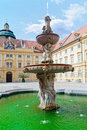 Baroque Fountain Royalty Free Stock Images
