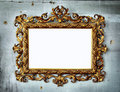 Baroque frame Stock Image