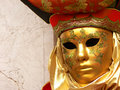 Baroque mask Royalty Free Stock Photo