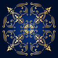 Baroque ornament Royalty Free Stock Photos