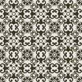 Baroque ornate pattern Royalty Free Stock Photo