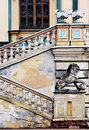 Baroque palace details Royalty Free Stock Photography