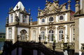 Baroque palace this in porto portugal today houses a hotel of the pousada chain Stock Photography
