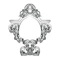 Baroque Rococo Exquisite Mirror frame decor