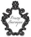 Baroque Rococo Mirror frame set