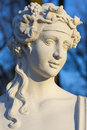 Baroque sculpture of spring. Royalty Free Stock Images