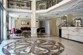 Baroque style hotel interior design Stock Image