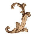 Baroque of vintage elements for design.