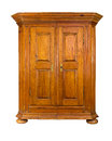 Baroque wooden cabinet Royalty Free Stock Photos