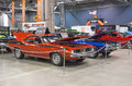 Barracuda picture of the plymouth at the international show car association isca show car at quebec canada Stock Image