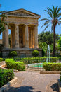 Barrakka gardens lower in valletta malta Stock Photo