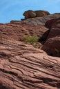 Barranca roja de la roca al oeste de Las Vegas, Nevada Fotografía de archivo libre de regalías