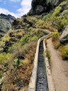 Barranco del infierno hell s gorge tenerife canary islands Stock Image