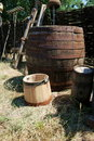 Barrel and cask Royalty Free Stock Image