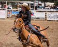 Barrel Racer Royalty Free Stock Photo