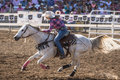 Barrel Racer Sprint Royalty Free Stock Photo