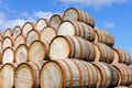 Barrel stack Royalty Free Stock Photos