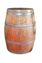 Barrel traditional wine made of oak wood Royalty Free Stock Photo