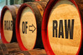 Barrels At Cooperage Display A...