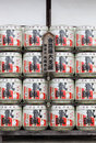 Barrels of japanese sake kotohira japan july at konpira hachiman gu shrine at july in kotohira japan old custom is to donate to Stock Photography