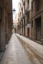Barri gotic barcelona gothic quarter spain Stock Images