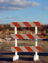 Barrier traffic Royaltyfri Bild