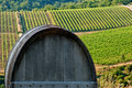 Barrique in chianti Royalty Free Stock Photo