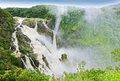 Barron falls after heavy rain and flooding Stock Image