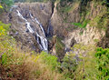 Barron falls waterfall cairns queensland australia magnificent australian outside of Stock Image