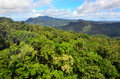 Barron gorge national park in queensland australia aerial landscape view of a world heritage the wet tropics of Stock Photo