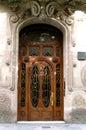 Barroque Door Royalty Free Stock Photo