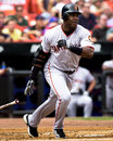 Barry bonds san francisco giants slugger image taken from color slide Royalty Free Stock Photos