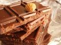 Bars of chocolate Royalty Free Stock Photo