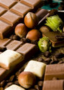 Bars of chocolate Royalty Free Stock Images