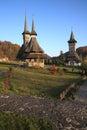 Barsana Monastery Stock Photography