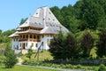 The Barsana Monastery (Maramures, Romania) Royalty Free Stock Photo