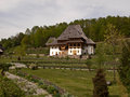 Barsana monastery in maramures transylvania Royalty Free Stock Photography