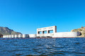 Bartlett lake dam a which is used to form in arizona Royalty Free Stock Photo