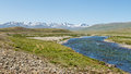 Barwai lungma river deosai national park pakistan in Royalty Free Stock Photo
