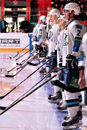 Barys team before the game Stock Photography
