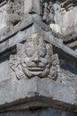 Bas reliefs prambanan temple java indonesia asia Royalty Free Stock Photography