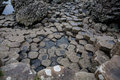 Basalt Columns at Giants Causeway Royalty Free Stock Photo